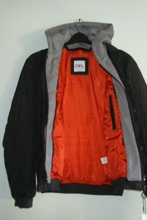 Мужская демисезонная куртка - бомбер от Зара (Испания) - Зара ZR0736-cl-М #2