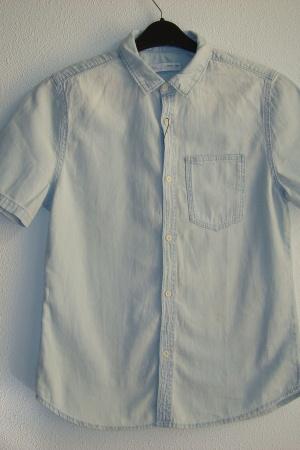 Джинсовая рубашка для мальчика подростка (Зара) - Зара ZR0739-cl-164