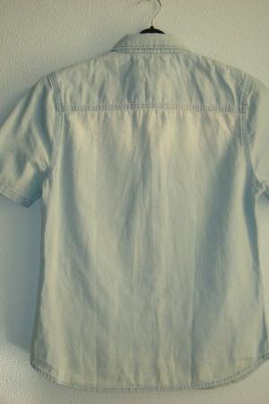 Джинсовая рубашка для мальчика подростка (Зара) - Зара ZR0739-cl-164 #2