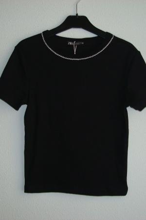 Стильная женская футболка от Зара - Зара ZR0800*-cl-S