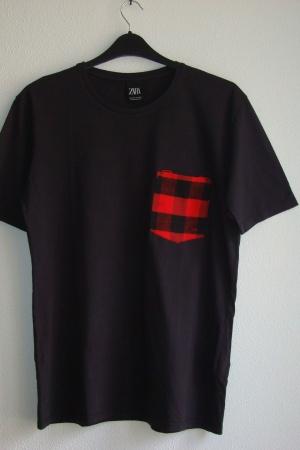 Оригинальная мужская футболка Зара (Испания) - Зара ZR0804-cl-М