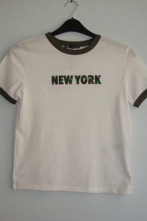 Женская футболка от Зара (Испания) - Зара ZR0808-cl-S
