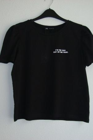 Базовая женская футболка от Зара (Испания) - Зара ZR0809-cl-L