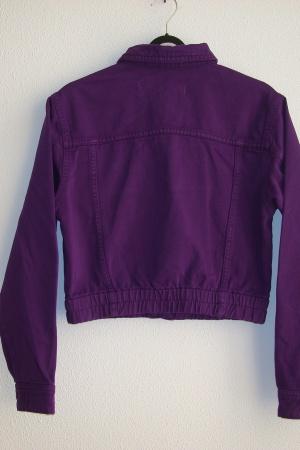 Стильный женский джинсовый пиджак от Зара (Испания) - Зара ZR0823-cl-XS #2
