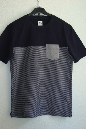 Стильные мужские футболки от Зарa - Зара ZR0834-cl-S