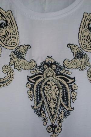 Женская футболка с узорами от Зара (Испания) - Зара ZR0839-cl-S #2