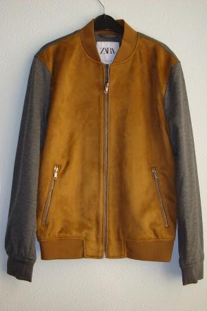 Супер стильная мужская куртка бомбер от Зара (Испания) - Зара ZR0879-cl-S