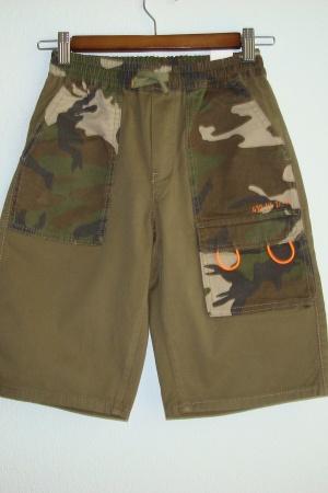 Стильные шорты милитари для мальчиков от Зара (Испания ) - Зара ZR0883-cl-134