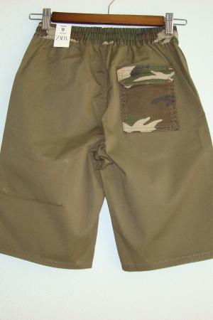 Стильные шорты милитари для мальчиков от Зара (Испания ) - Зара ZR0883-cl-134 #2