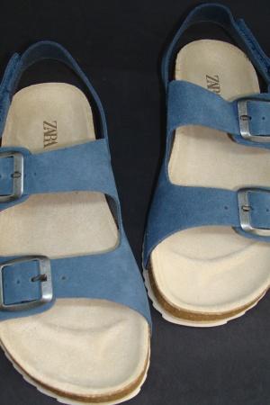 Супер стильные кожаные босоножки для мальчиков от Зара - Зара ZR0885-sh-35