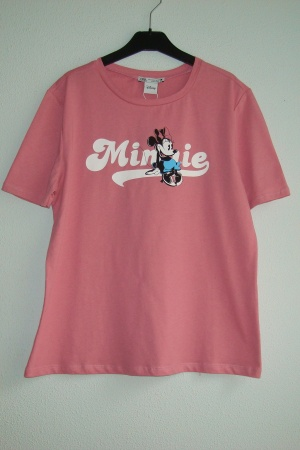 Красивые женские футболки Зара & Minnie Mouse - Зара ZR0938-cl-S