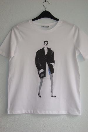 Супер стильные женские футболки от Зара (Испания) - Зара ZR0947-сl-S