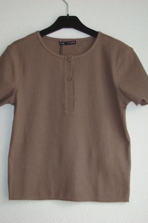 Женская футболка топ от Зара  - Зара ZR0952-cl-S
