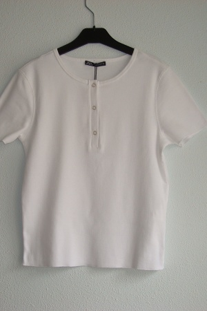Женская футболка топ от Зара Испания - Зара ZR0953-cl-М