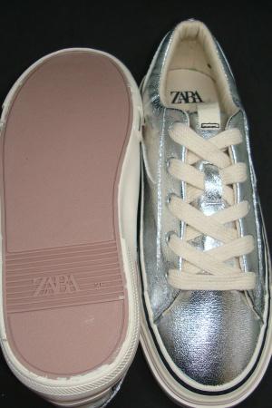 Ультра модные яркие кеды для девочек от Зара (Испания) - Зара ZR0963-sh-34 #2