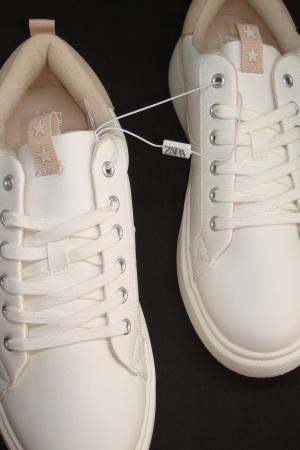 Супер стильные кроссовки на платформе для девочки подростка от Зара (Испания) - Зара ZR0964-sh-39