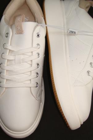 Супер стильные кроссовки на платформе для девочки подростка от Зара (Испания) - Зара ZR0964-sh-39 #2