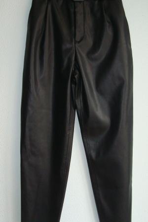 Женские кожаные брюки с ремнем от Зара (Испания) - Зара ZR0982-cl-S