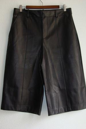 Ультра модные женские кожаные  шорты от Зара (Испания) - Зара ZR0999-cl-L