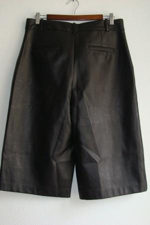 Ультра модные женские кожаные  шорты от Зара (Испания) - Зара ZR0999-cl-L #2