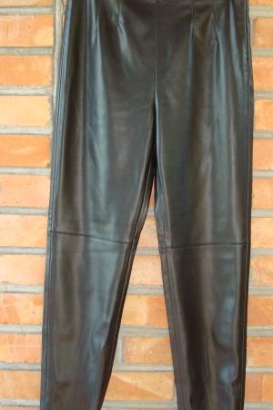 Кожаные женские леггинсы Zara Испания - Зара ZR1006-w-L