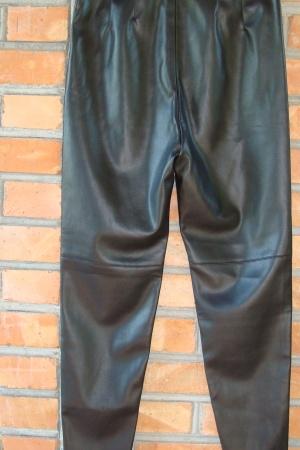 Кожаные женские леггинсы Zara Испания - Зара ZR1006-w-L #2