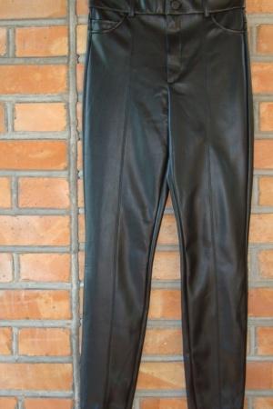 Кожаные женские леггинсы от Zara Испания - Зара ZR1031-w-M