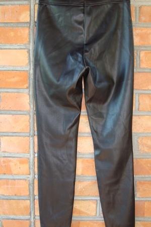 Кожаные женские леггинсы от Zara Испания - Зара ZR1031-w-M #2